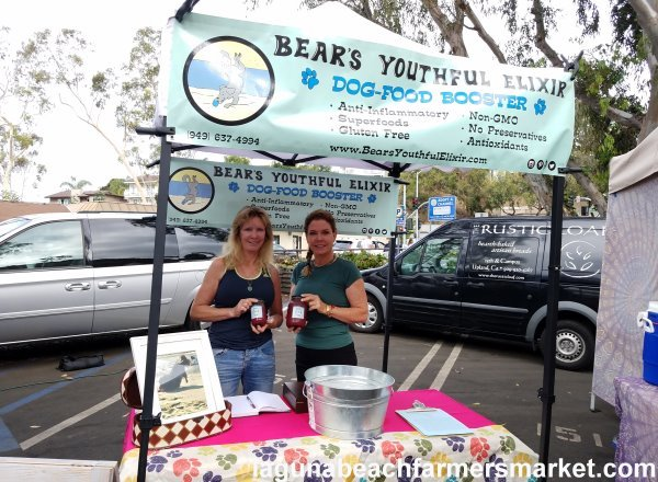 specialty food items laguna beach farmers market bears youthful elixir