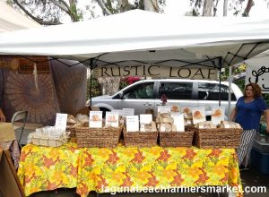 natural baked goods laguna beach farmers market rustic loaf