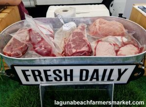 farm fresh meat laguna beach farmers market de le ranch