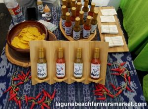 hot sauce salsa laguna beach farmers market mago hot sauce